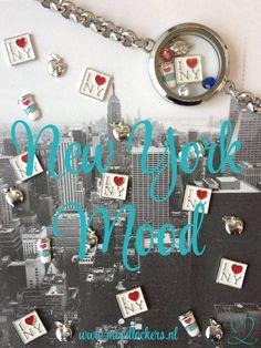 New York Mood! Moodlockers, jouw persoonlijke sieraad waarvan je de inhoud kunt wisselen. Open je locker, wissel je moodies, en laat zien waar jij voor staat! www.moodlockers.nl