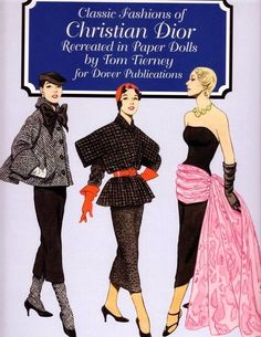 Classic Fashions of CHRISTIAN DIOR by TOM TIERNEY 1 of 17