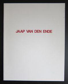 galerie Nordhorn # JAAP VAN DEN ENDE # 1984, nm