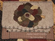 Love the trim stitching.  Atelier Sweet Country: La mia cover personale ...