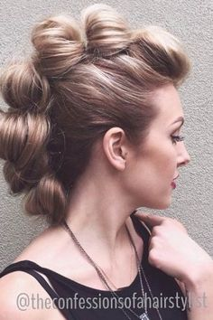 Statement Mohawk Hairstyles 2015 | Hairstyles 2015 / 2016, Hair Colors and Haircuts