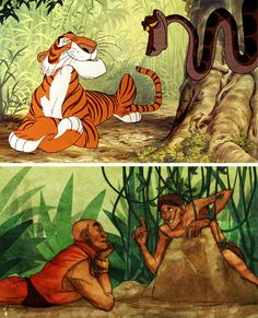 disney animal characters as humans by  Pugletto