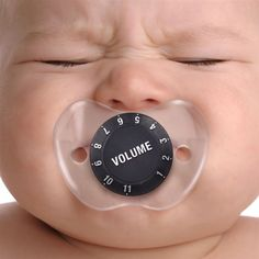 Chill Baby Volume Pacifier – $9 If only it was this easy!