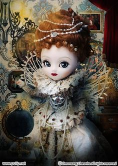 Pullip Doll Images: Queen Elizabeth The First Portrait - The Dolly Insider