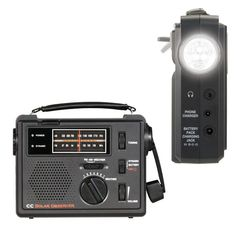 It's all about being online these days, but a bad storm can send you back to the Stone Age if you're not prepared. The CC Observer Solar Radio lets you stay informed and up-to-date with current news, even when the power's out.