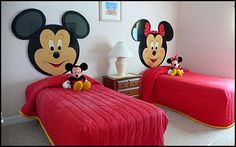 Mickey and Minnie room