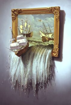 21 MindBlowing Surreal Paintings and Creative Illustrations by Tim OBrien. Read full article: http://webneel.com/webneel/blog/21-awesome-and-surreal-paintings-and-editorial-illustrations-tim-obrien | more http://webneel.com/paintings | Follow us www.pinterest.com/webneel