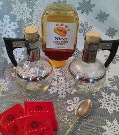 Vintage Pyrex hot water tea server, vintage pyrex, hot water tea, pyrex Art Deco, Art deco kitchen, tea server, carafe pitcher, glass retro by Vintagepetalpushers on Etsy