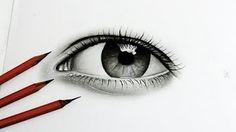 ouw desenho do olho realista!!!