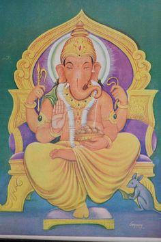 1940er Jahre hinduistischen Elefanten Gott von LostAntiqueTreasures