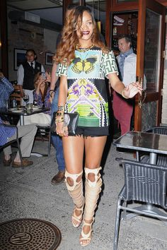 See How Stars Like Rihanna Are Playing with Patterns