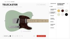 We try the Fender Mod Shop digital design studio, where you can build a custom guitar or bass. We also take a tour of the Fender factory in Corona, CA. Cannabis, Build Your Own Guitar, New Mods, Lounge, Nike Id, Custom Guitars, Guitar Design, Summer Tops, Modern Classic