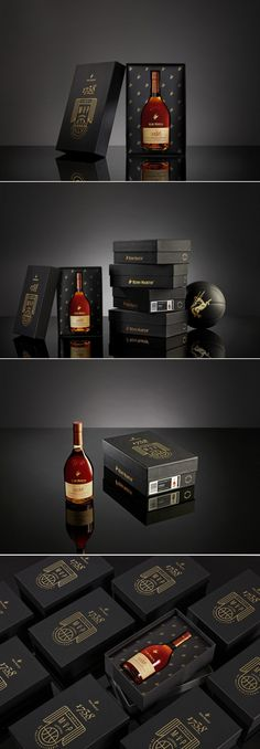 Be an MVP with this Collectible Sneaker Box & a Bottle of Rémy Martin 1738 — The Dieline | Packaging & Branding Design & Innovation News