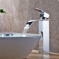 Bathroom Faucets Diy Jiayoujia Glass Waterfall Bathroom