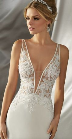 Courtesy of Morilee Wedding Dresses by Madeline Gardner #weddingdress
