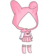 Source by shukigacha ideas gacha Manga Clothes, Drawing Anime Clothes, Anime Girl Drawings, Kawaii Clothes, Cute Anime Chibi, Kawaii Anime, Chibi Body, Fashion Drawing Dresses, Clothing Sketches