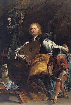TICMUSart: Retrato del conde Fulvio Grati - Giuseppe Maria Crespi (1720-1723) (I. M.)