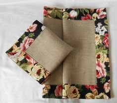 Best 9 Easy 10 Beginner sewing projects projects are readily available on our web pages. Check it out and you wont be sorry you did. Burlap Crafts, Diy Home Crafts, Fabric Crafts, Sewing Crafts, Applique Stitches, Cushion Cover Designs, Table Runner And Placemats, Burlap Table Runners, Sewing Projects For Beginners