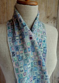 """Cartel"" small scarf - Sophie Digard crochet"