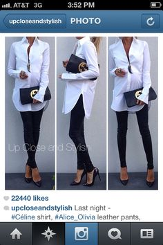 Gorgeous maternity look for work