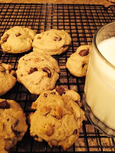 Chocolate chip cookies with egg substitute  #tiffanysdelight