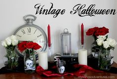 Halloween decorations : IDEAS & INSPIRATIONS  Halloween Decor Vintage Halloween