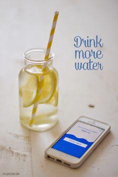 A importância de beber água Drink more water