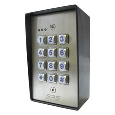 1000 images about keypads on pinterest access control stainless steel and door entry. Black Bedroom Furniture Sets. Home Design Ideas