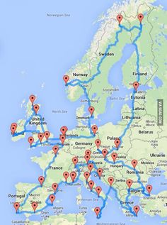 The perfect road trip! 22000 kilometers - 9GAG