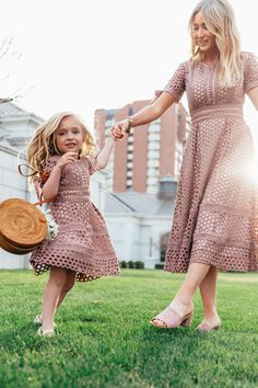 summer dresses for girls and women. mom and me matching dress ideas. summer dresses for girls and women. mom and me matching dress ideas. Mommy And Me Outfits, Family Outfits, Kids Outfits, Summer Outfits, Cute Outfits, Dress Outfits, Mom Dress, Baby Dress, Baptism Dress For Mom