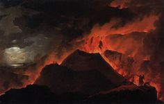 1779 Michael Wutky, Painting of Vesuvius (at the Academy of Fine Arts Vienna)