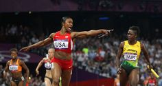 carmelita jeter after breaking the world record!!