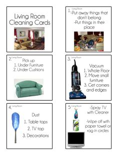 Chore Cards {Chore Flip Charts} - Tips from a Typical Mom Diy Cleaning Products, Cleaning Hacks, Cleaning Lists, Cleaning Schedules, Speed Cleaning, Weekly Cleaning, Cleaning Routines, Daily Schedules, Cleaning Recipes