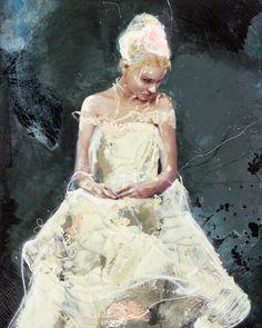 Lita Cabellut, 'Fairy Flower 10,' 2016, Opera Gallery
