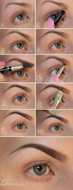 Everyone always asks how I do my eyebrows..and this is exactly how I do them