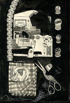 "illustrated by ""carson ellis"" seen on vlinspiratie.blogspot.com #illustration"