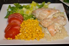 QUICK HEALTHY SALMON WITH COUSCOUS RECIPE.  #healthymeals, #healthyfood #healthy #Canon #fastrecipes
