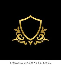 Luxury Logo Design, Graphic Design, Examples Of Logos, Trophy Design, Banner Background Images, Photoshop Images, Graffiti Lettering, Gold Labels, Gold Work