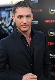 Tom Hardy. Can I marry him now.