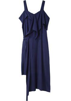 Limi Feu / Sleeveless Drape Dress