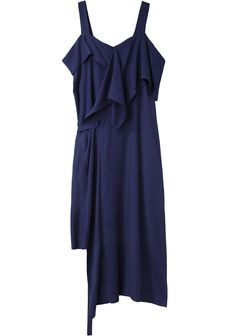 Limi Feu / Sleeveless Drape Dress