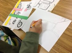Mrs. Knight's Smartest Artists: Rad Bikes, 5th grade