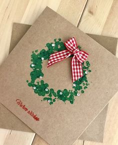 christmas crafts handmade 25 Handmade Christmas cards to copy / Christmas Card Crafts, Homemade Christmas Cards, Christmas Activities, Christmas Wrapping, Christmas Art, Handmade Christmas, Holiday Crafts, Christmas Decorations, Christmas Ornament