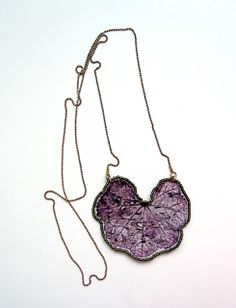 textile design - textileme - esther yaloz: textile jewelry Stunning simplicity!
