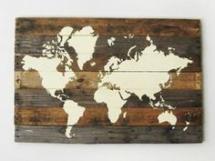 this DIY pallet map blew our mind and made the creativity loose to be out. We decided to get a DIY pallet world map art out of the pallet wood which would