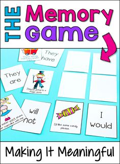 Try this simple tip to make the Memory Game meaningful and more than just a matching activity! Check out this guest blog post from Deb Hanson of Crafting Connections who shares playing tips and freebies!