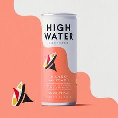 Hard Seltzer Brand / Packaging Design / Premium Spirits / Water / Illustration Brand Packaging, Packaging Design, Spring Water, Branding Agency, Brand Design, Design Agency, Illustration, Alcohol, Rubbing Alcohol