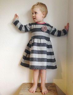 """ebook """"Fidelia"""" - Kinderkleid mit Tüllrock - Gr. 62/68 -  146/152 - Schnittmuster und Nähanleitungen bei Makerist"""