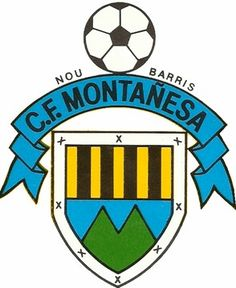 CF Montañesa, Barcelona, Catalonia Barcelona Catalonia, Spain, Soccer, Football, Logos, Football Squads, Hs Sports, Football Team, Uruguay