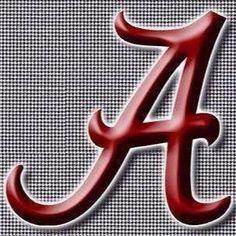 The Alabama Crimson Tide Alabama Crimson Tide Logo, Crimson Tide Football, Alabama Football, College Football, Football Rules, Alabama Wallpaper, Football Wallpaper, Alabama Athletics, Stylish Alphabets
